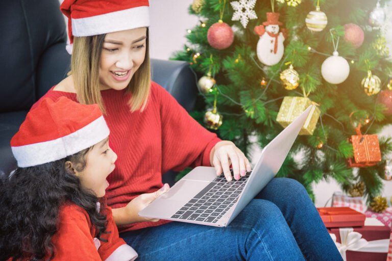Play games to break the ice during your virtual holiday get together!