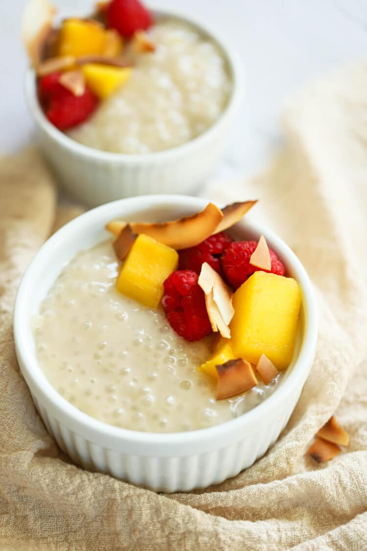 This yummy dessert offers a creamy texture that will satisfy your cravings.