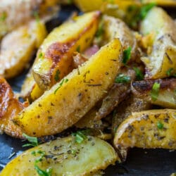 Oven Baked Roasted Potatoes better than Fried.