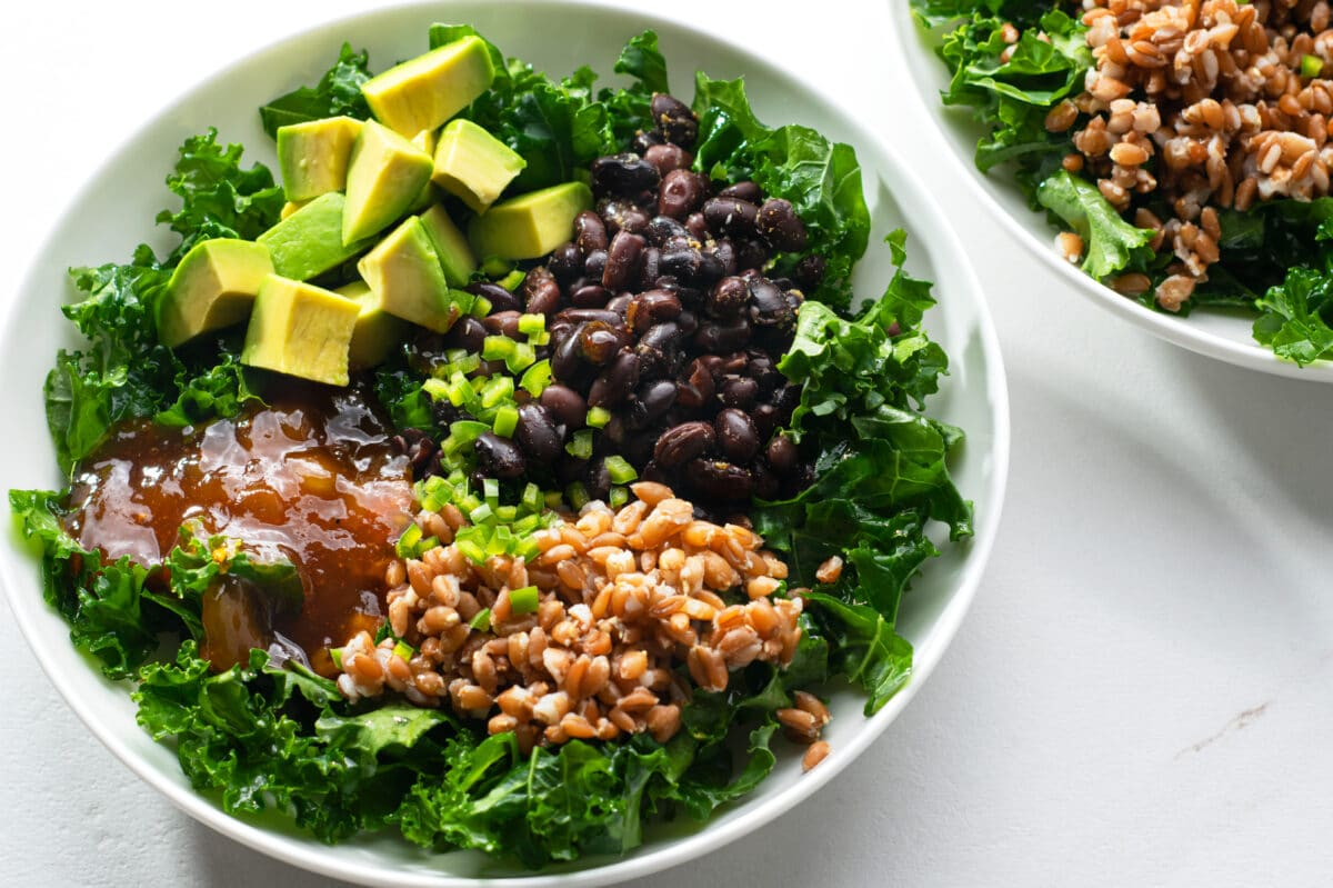 This yummy Buddha bowl is an awesome, easy meal option!
