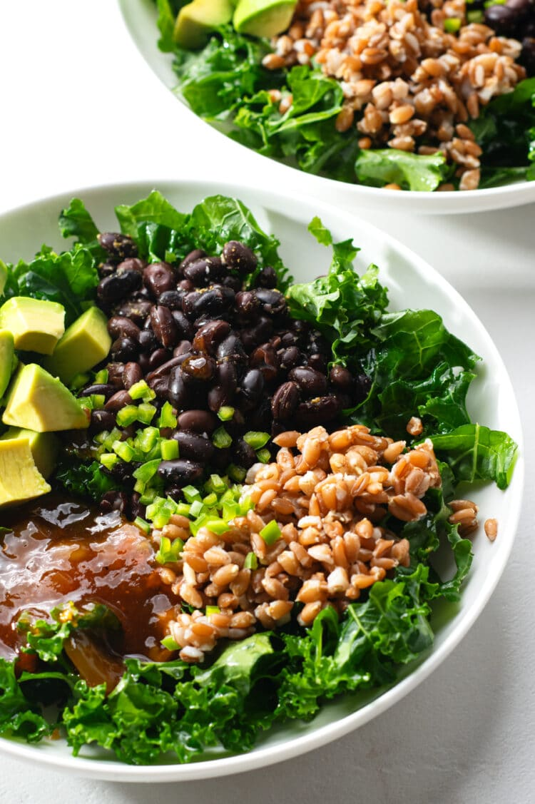 This is a super healthy, yet totally delicious dinner option.