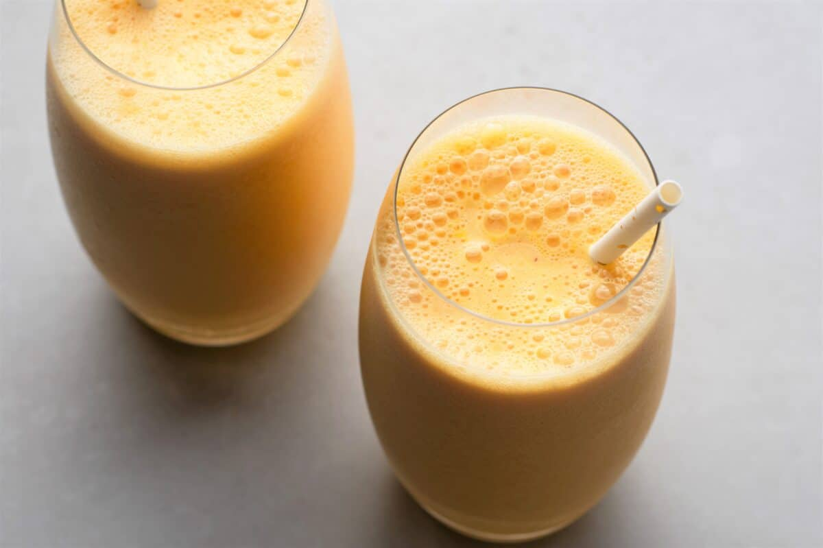 Our Skinny Orange Julius is loaded with yummy orange flavor!
