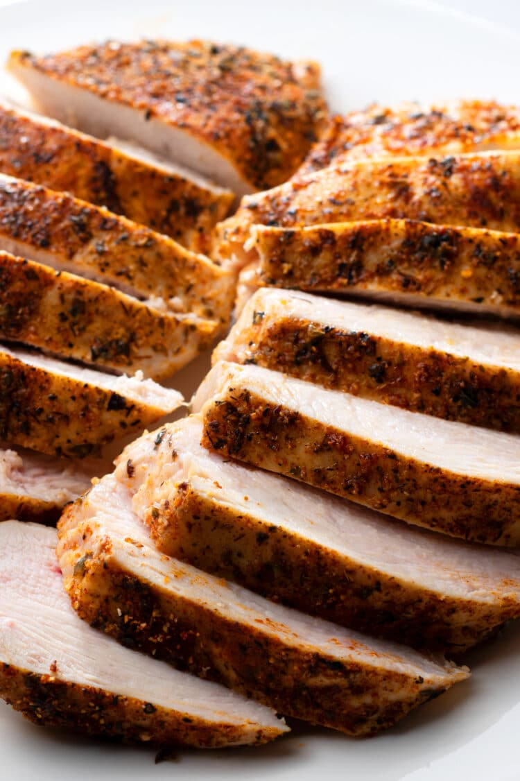 Enjoy this flavorful chicken in a number of different meals!