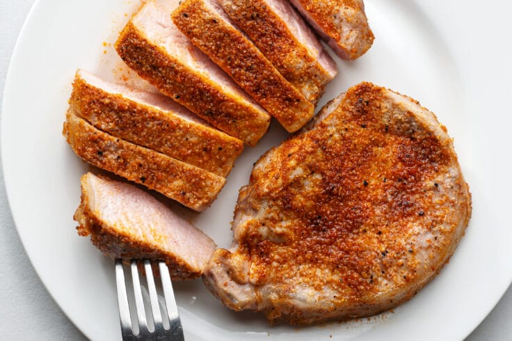 If you're tired of chicken, try these lean pork chops instead.