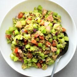 Our avocado tuna salad will be a hit on the next warm, Spring or Summer day.