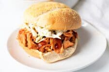 This clean BBQ Jackfruit recipe is a go to vegan option for the mouthwatering cuisine!