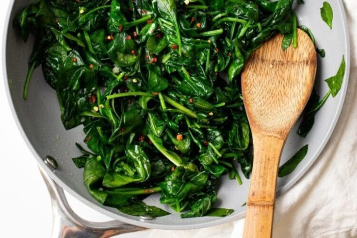 Our easy sauteed greens are loaded with vitamins, minerals, and flavor!