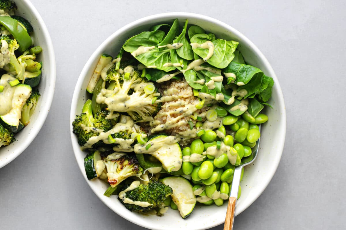 Our Green Goddess Bondi Bowl is chock-full of delicious, green flavor!