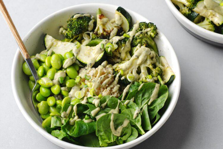Fresh veggies make this recipe a satisfying meal!