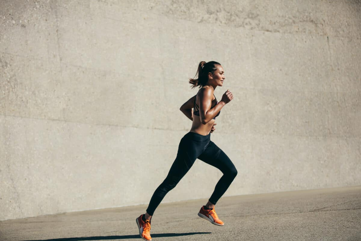 Sprinting is a great exercise for your HIIT workout.