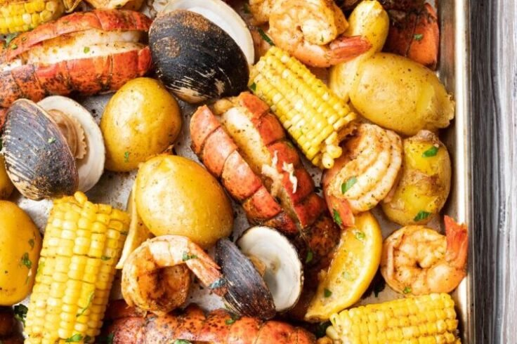 Our Maine Lobster Bake is the perfect recipe to try the next time youre craving seafood!