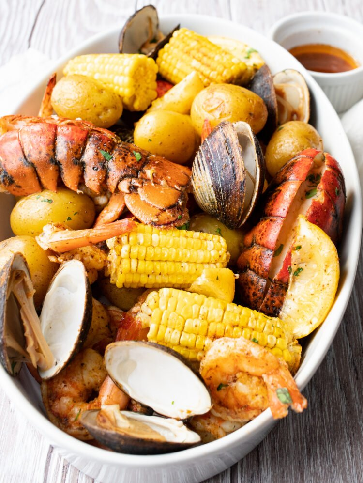 Change up your Friday fish fry with this lobster bake instead!