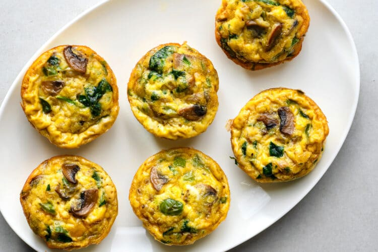 These high-protein egg muffins will keep you full and focused for hours.