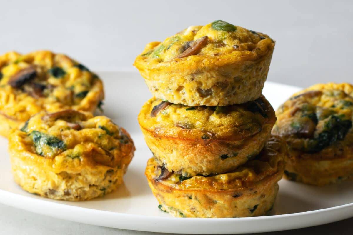 Our flavorful egg muffins recipe is loaded with nutritious and fresh ingredients.