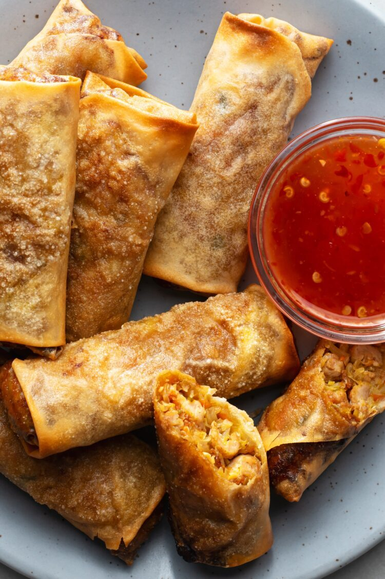 Try these healthy egg rolls the next time you're craving take-out!