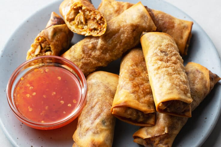Our air fryer egg rolls are packed with flavor, delicious texture, and made with cleaner ingredients you can feel good about!