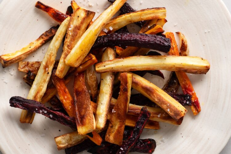 Season these veggie fries to match your cravings!