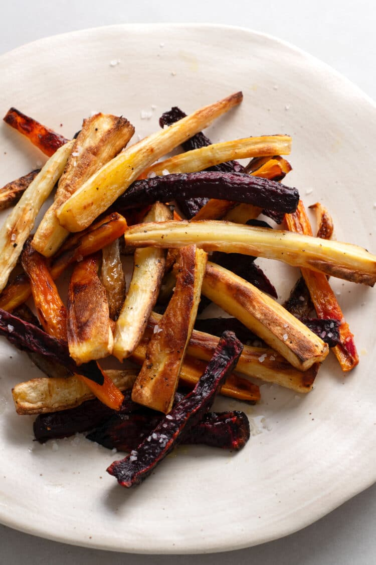 Baked fries are so much healhier than fried fries!