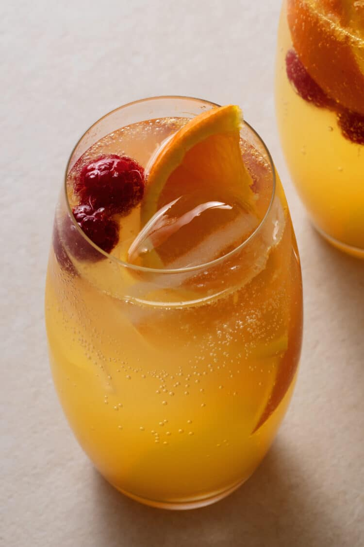 Fresh and fruity beverages are great for warm weather.