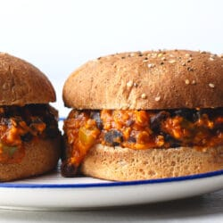 Try these deliciously easy vegetarian sloppy joes tonight!