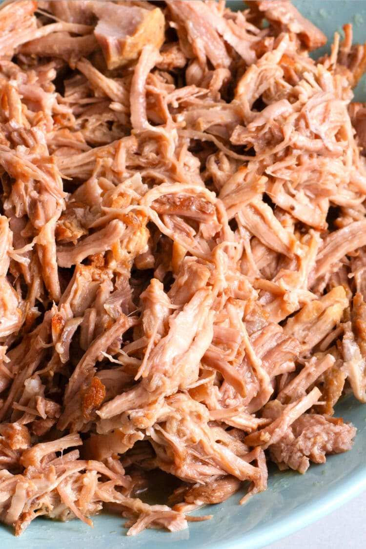 Tender and flavorful pulled pork is a great food to have on hand for extra protein!