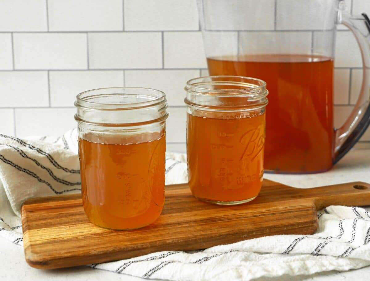 Learn how to brew kombucha at-home and save yourself money!