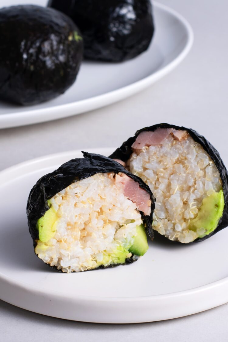These cute little sushi balls are a fun spin on dinner.