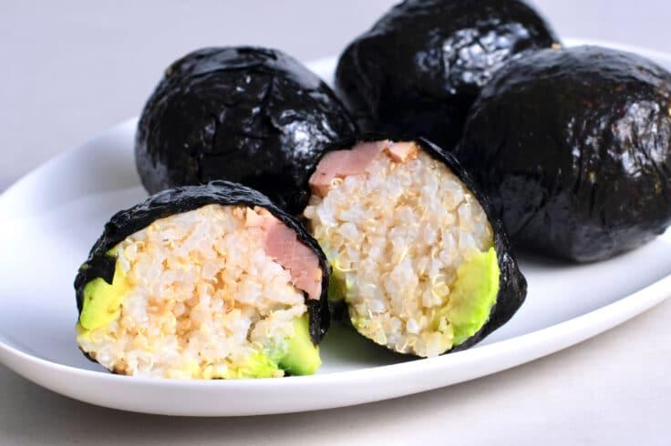 Our Seaweed Sushi Ball are a fun DIY sushi idea!