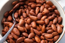 Our sweet & spicy toasted almonds are the perfect snack for midday hunger.