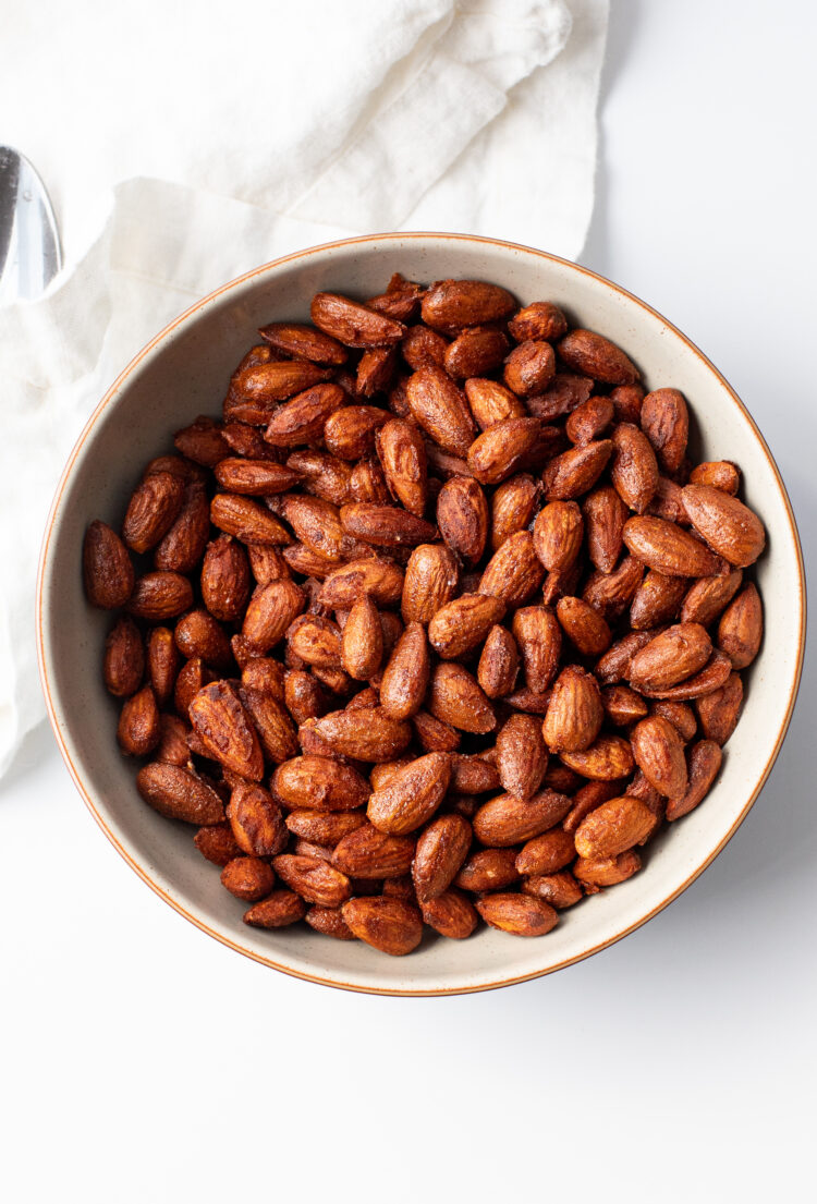 Almonds are one of our favorite snacks because they're loaded with nutrition, delicious, and will provide you with a serious energy boost!