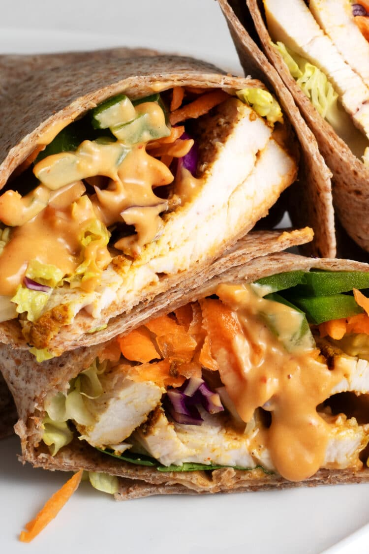 Your favorite Thai flavors in a yummy little wrap!