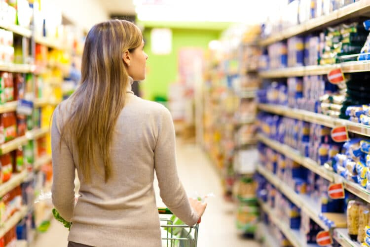 Buy long-lasting items in bulk to spend less money!