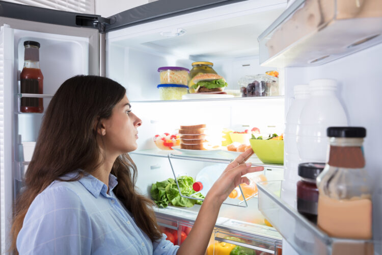 Move products that are going to expire first to the front of your pantry and refrigerator.