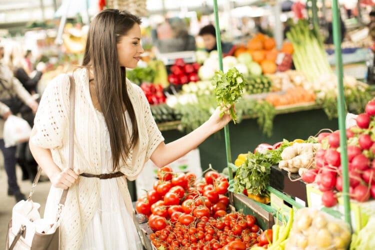 Shop seasonally to save money on produce.