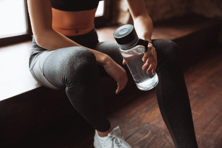Drink plenty of water throughout the day.