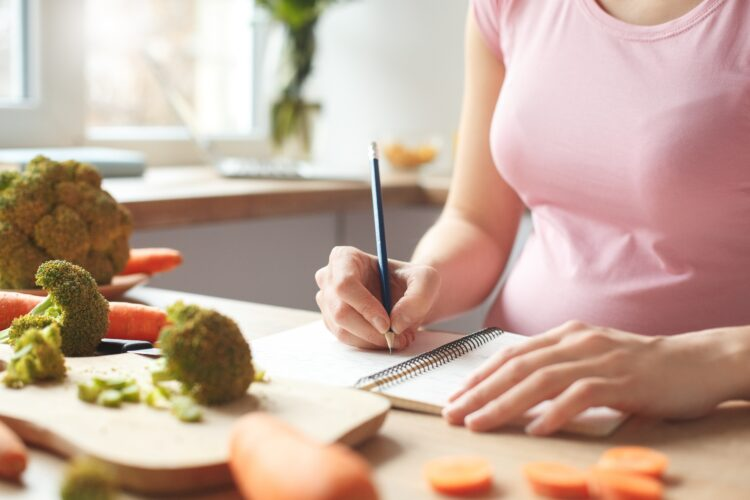 Write down everything that you eat!