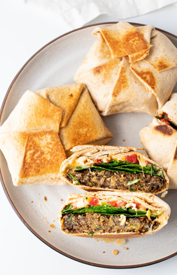 These scrumptious veggie burgers will be a hit with the entire family.