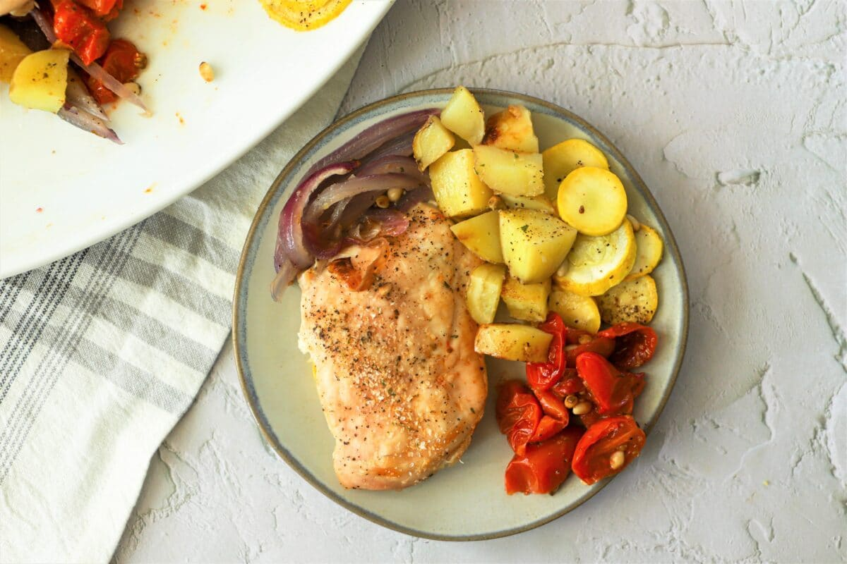 Our chicken and summer squash bake is loaded with yummy flavor and crafted using highly-nutritious ingredients.