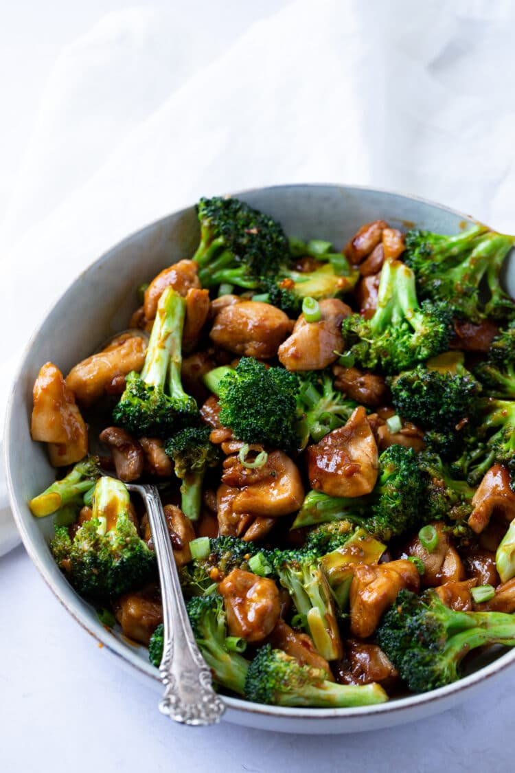 Perfectly-flavored chicken and broccoli that is great for lunch or dinner.