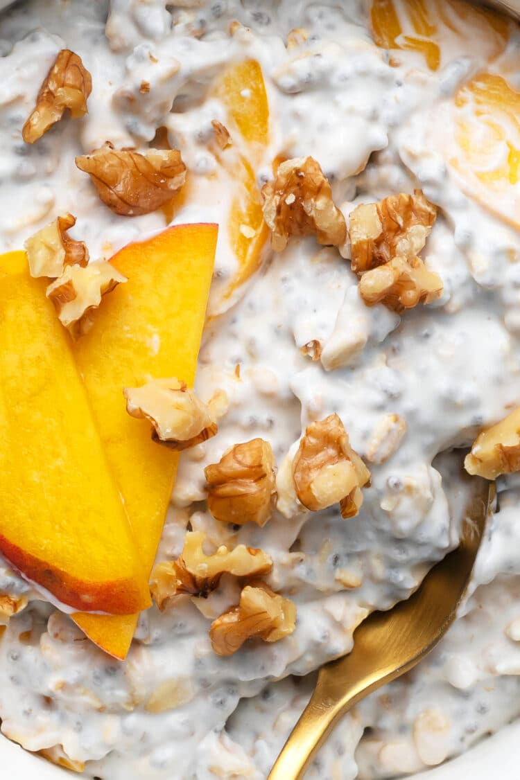 This overnight oats recipe is loaded with creamy texture and incredible flavor!
