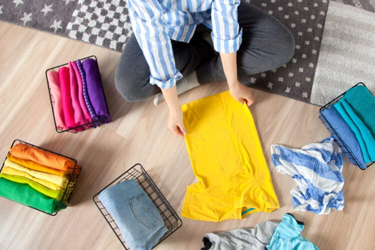 Organizing your environment is a great way to focus and stress less!